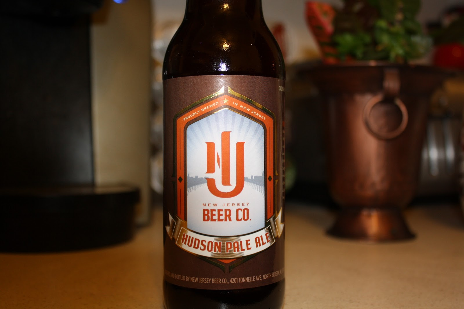 New Jersey Beer Co. Hudson Pale Ale