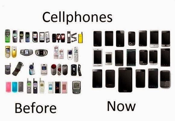 携帯 スマホ 昔 現在