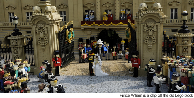 The Royal Wedding Recreated With Lego Blocks
