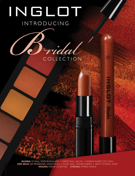 inglot bridal collection cosmetics