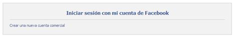 Registro Página de Facebook