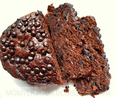 Rich & Moist Chocolate Banana Bread