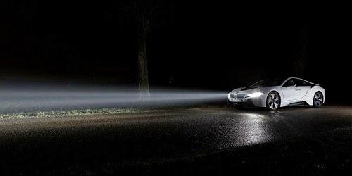 Kelebihan Lampu Laser BMW i8