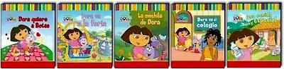 coleccion algumes ilustrados Dora