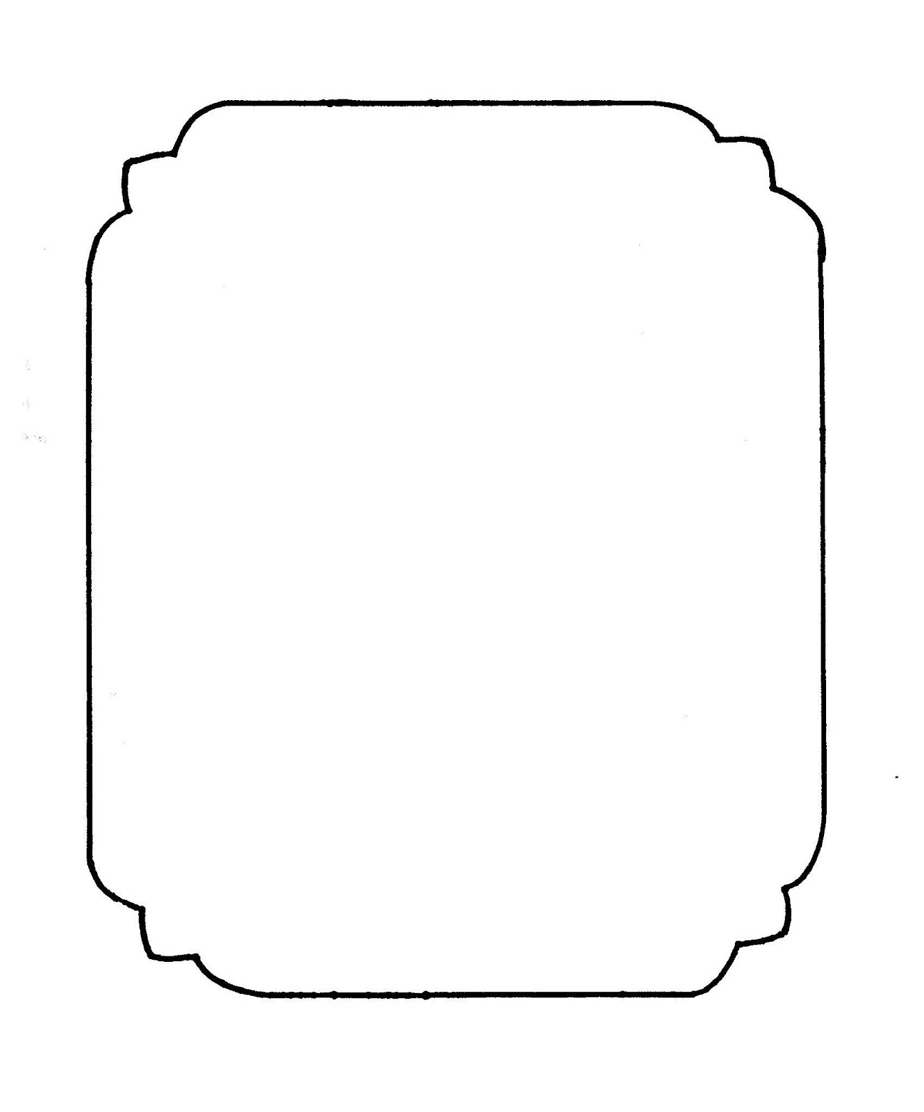 Tactueux image with printable frame template