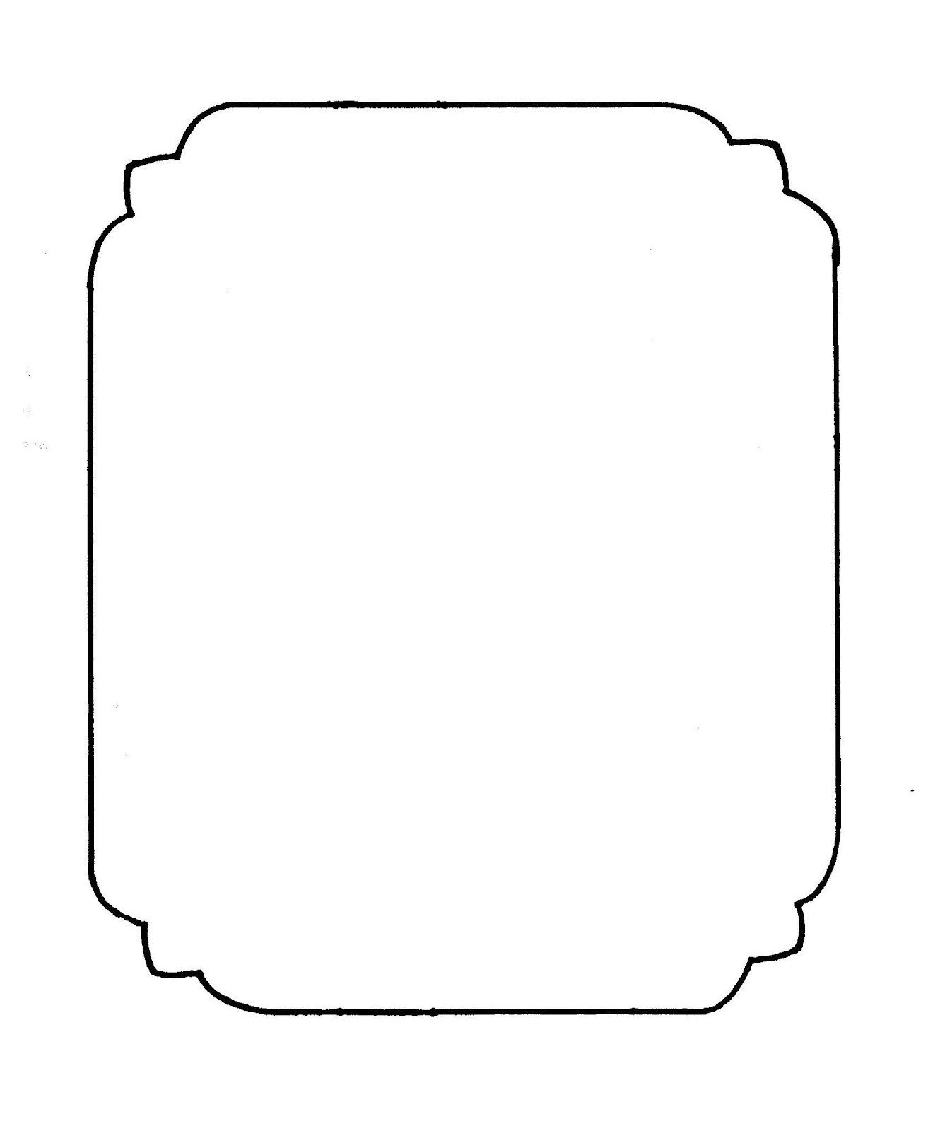 Genius image regarding free printable picture frame templates