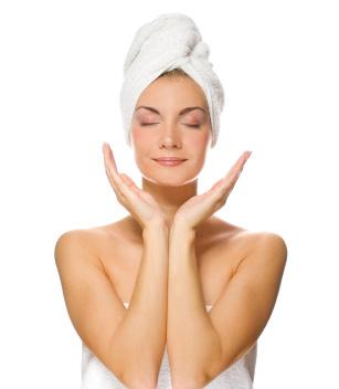 limpiar la piel