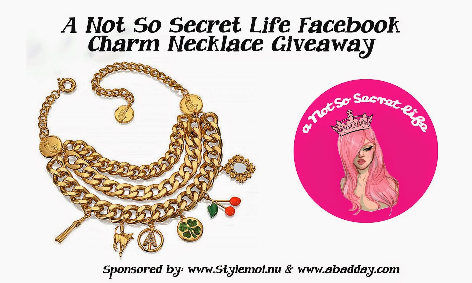 WIN THIS CHARM NECKLACE