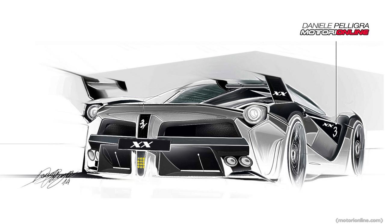 Ferrari S New Laferrari Xx Track Monster Visualized