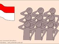 hormat bendera tidak sama dengan menuhankan bendera!