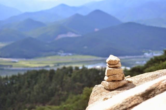 Hiking in South Korea Gyeongjus Namsan Mountain  You
