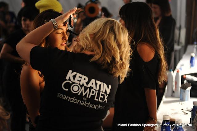 Keratin Complex by Sam Donaldson at MBFWS 2014