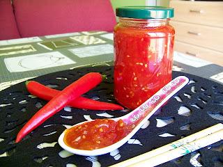 Chili jam - mermelada de chile dulce