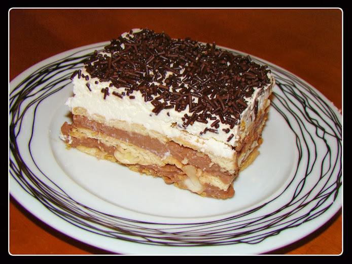 Το καλύτερο γλυκό ever! Πτι μπερ και άνθος αραβοσίτου σοκολάτα...