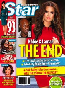 Khloe and Lamar Odom Kardashian Divorce