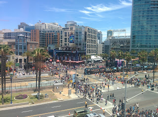 View from San Diego Convention Center