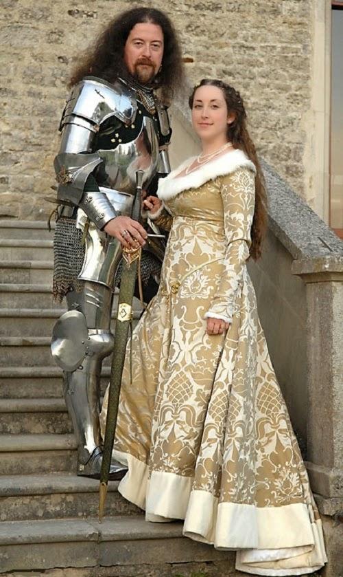 Noiva Com Classe Um Casamento Medieval Real Na Inglaterra