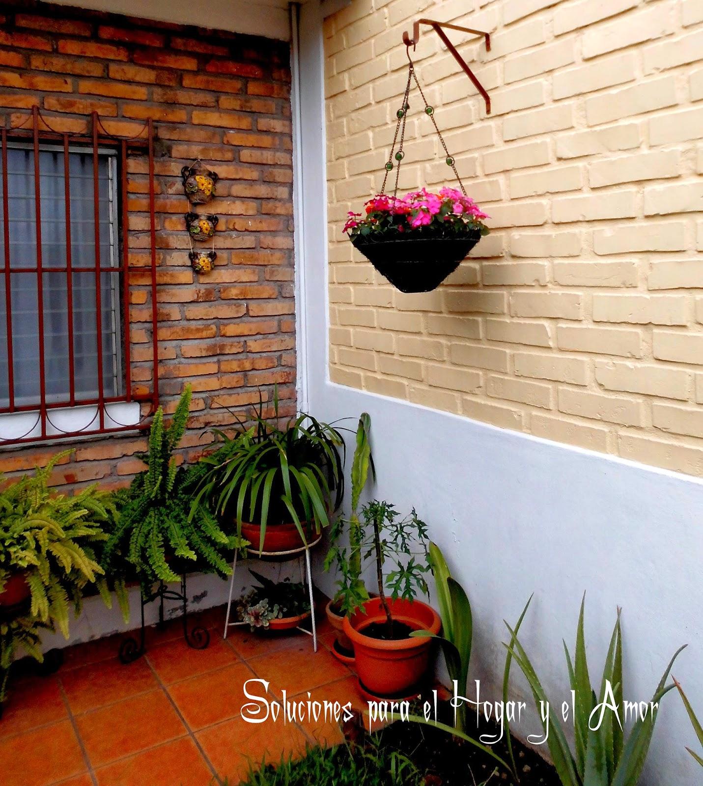 Rincón decorado del Jardín