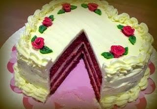 Tarta Terciopelo Rojo Especial San Valentín