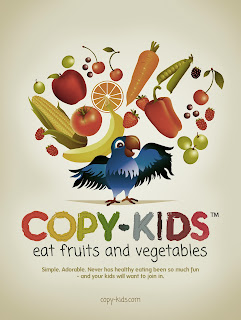 Copy-Kids Eat Fruits and Vegetables
