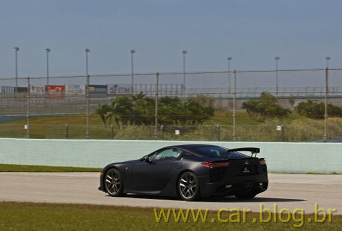 Lexus LFA - preto fosco - black