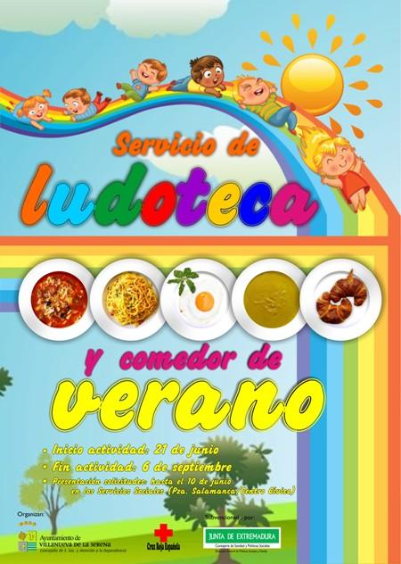 Ludoteca y comedor de verano