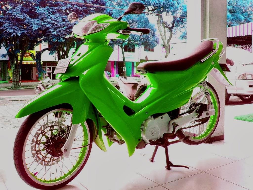 Gambar Modif Suzuki Smash 110 Gaul Terbaru 2014