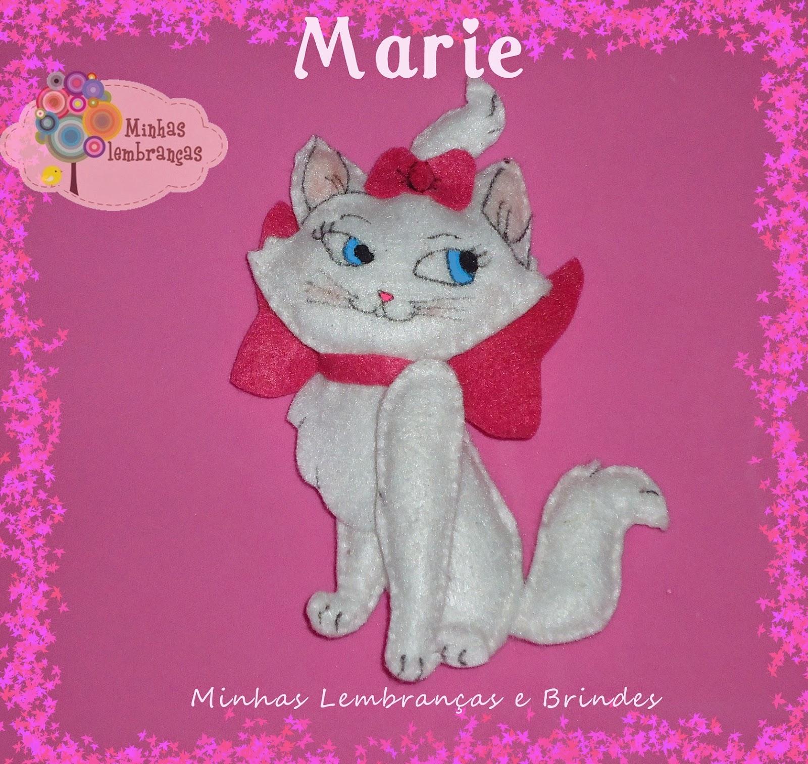 gatinha marie-feltro-enfeite-mesa-lembrancinha-brinde-aniversário-menina