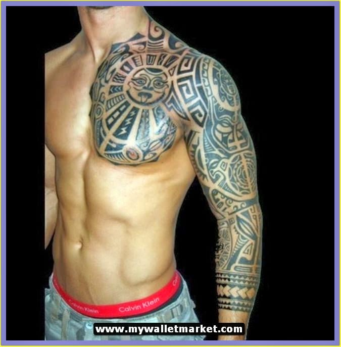 3d tattoos for men tattoos art. Black Bedroom Furniture Sets. Home Design Ideas