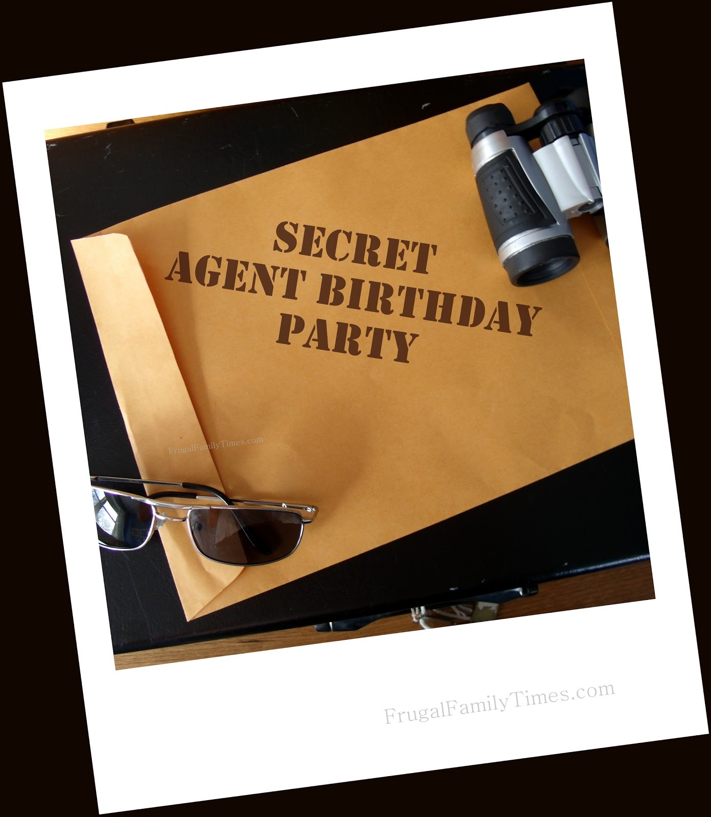 Secret Agent Birthday Party: Ideas, Printables, Games and More ...