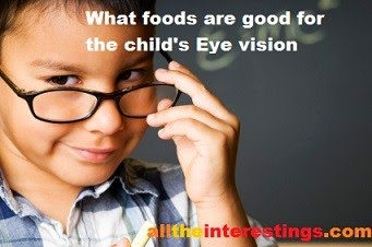 healthy foods for kids to improve eye vision