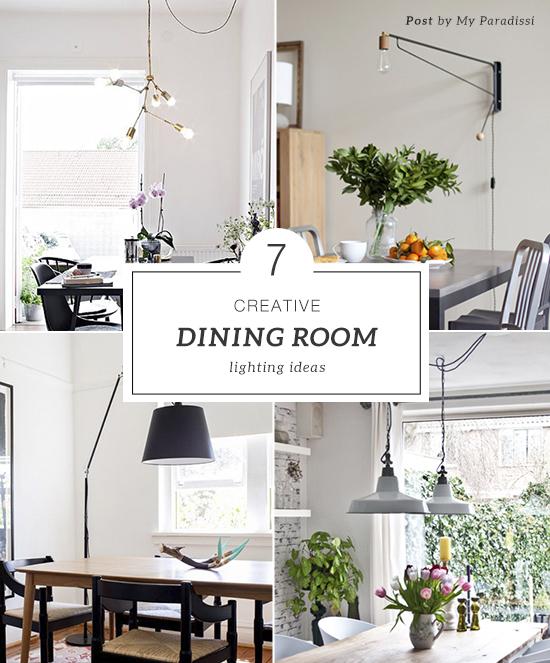 Creative Dining Room Lighting Ideas
