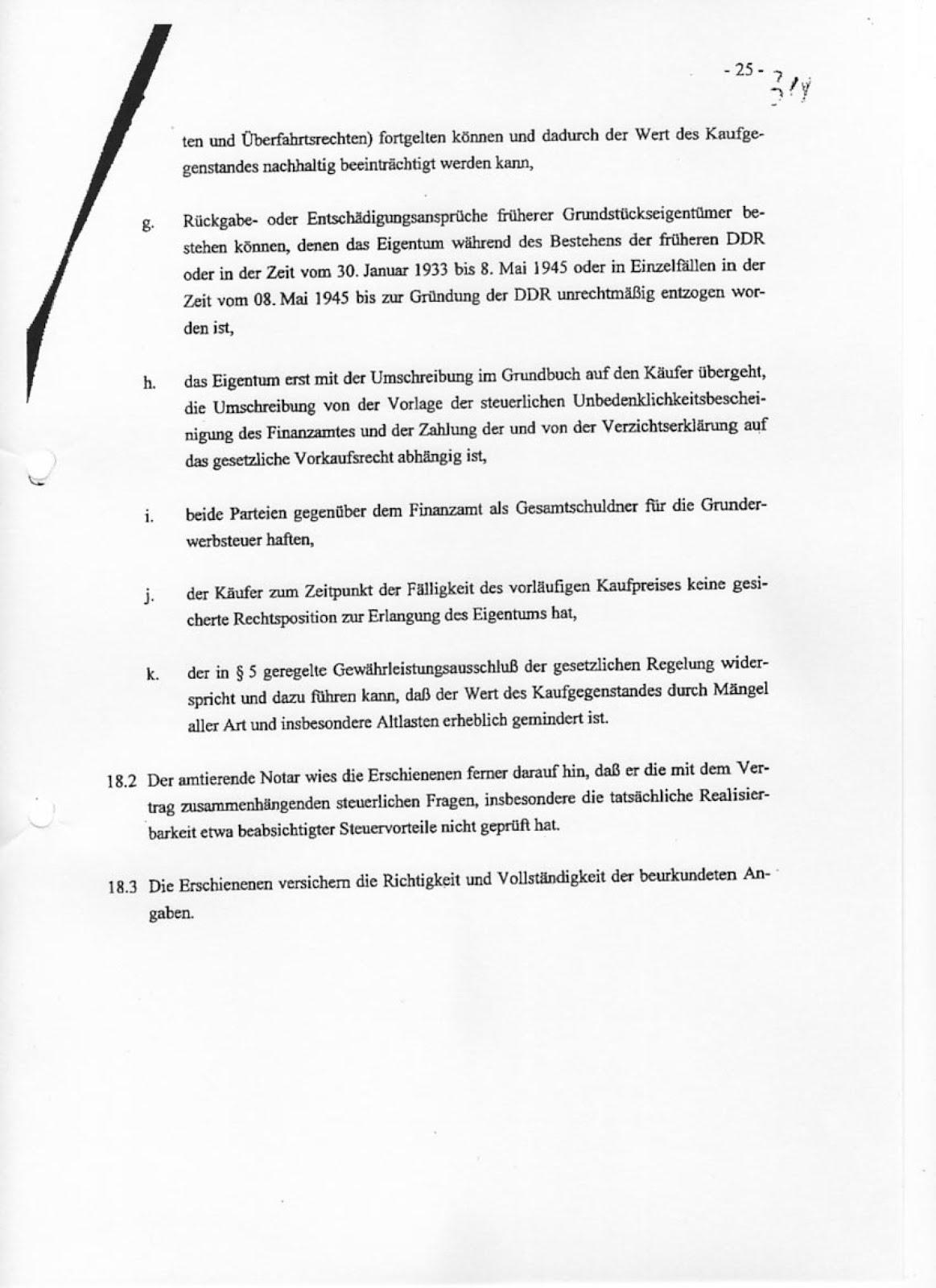 Kritikdesign [conceptual art-21]: Kaufvertrag Fundus-BRD ...
