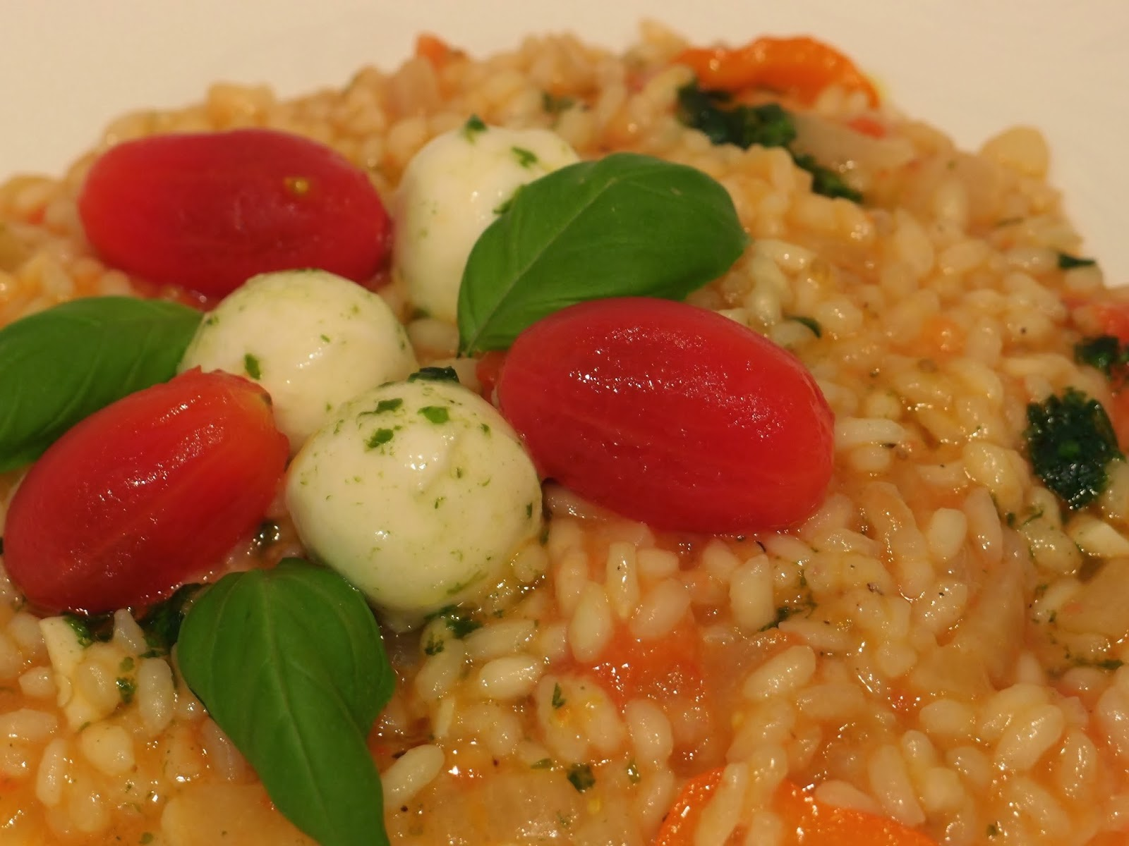 The VegHog: Tomato and basil risotto