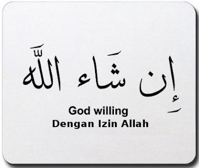 """Cara Menulis Kata """"Insya Allah"""" yang Benar"""
