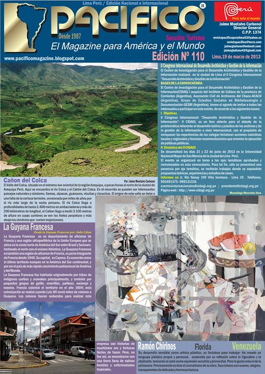 Revista Pacífico Nº 110 Turismo