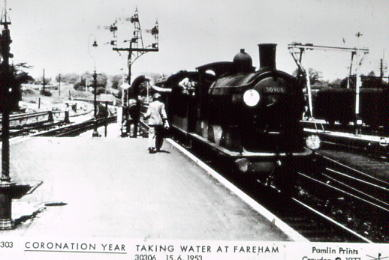 Gosport train at Fareham