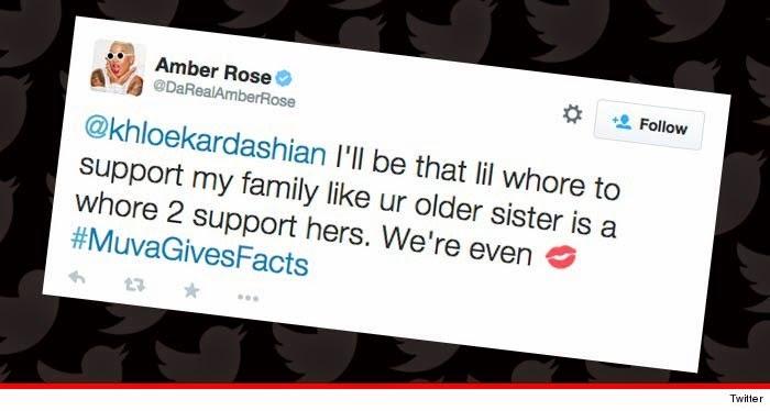 "Amber Rose Calls Kim A ""Whore""  (2)"