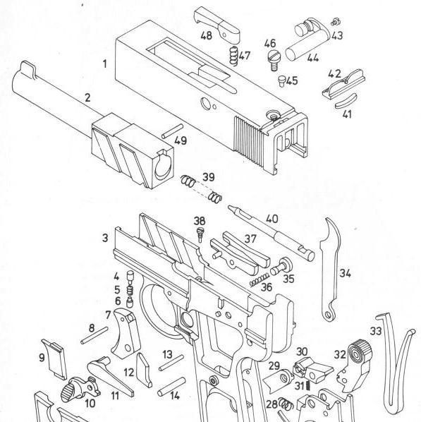 Arnhem Jim The Other Webley Limited Standard Semi Automatic