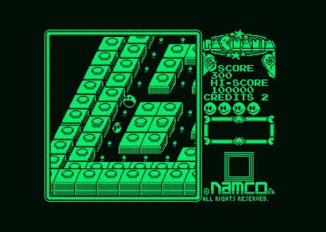 Llega la conversión no oficial de Pac-Manía para Amstrad PCW