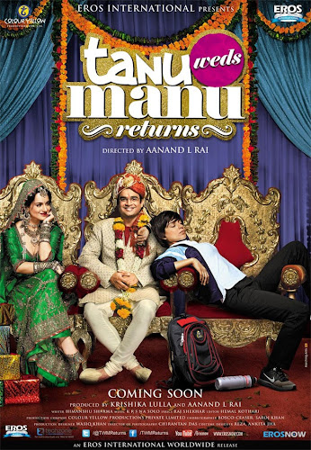 Tanu Weds Manu Returns (2015) Movie Poster No. 1