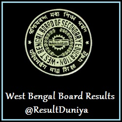 WBBSE Class 12th Result 2015