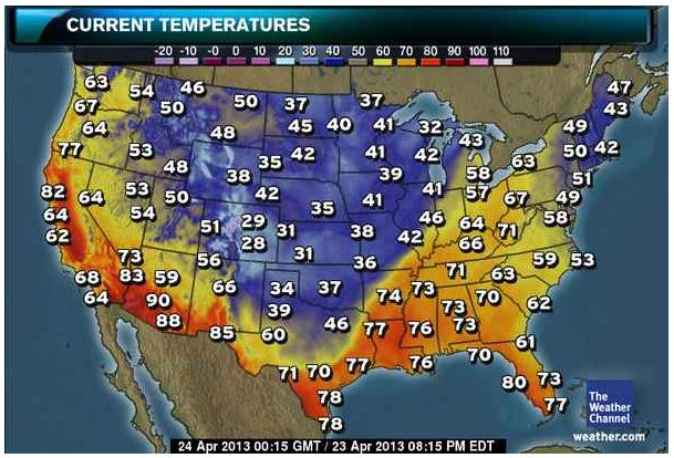 Us Jetstream Forecast Map