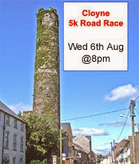 Fast 5k in East Cork...