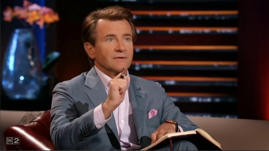 shark tank robert herjavec blue suit