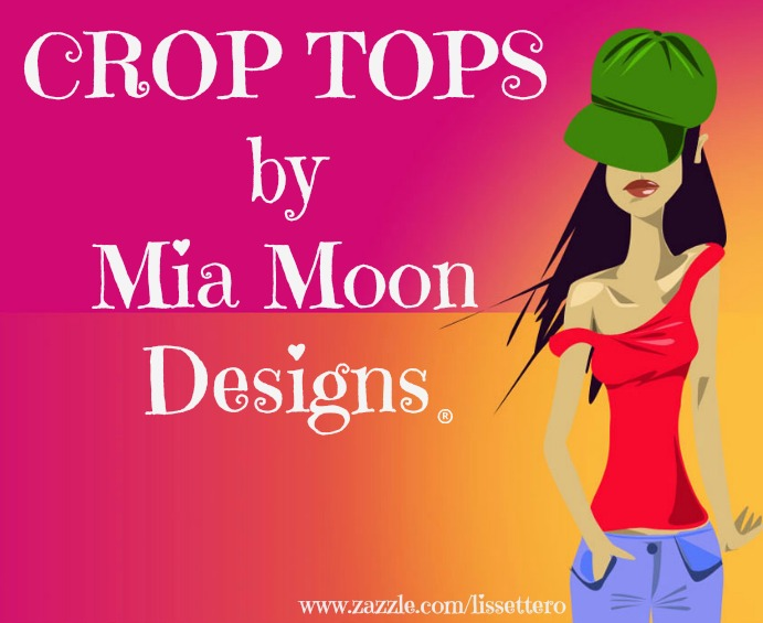 CROP TOPS by MIAMOON DESIGNS