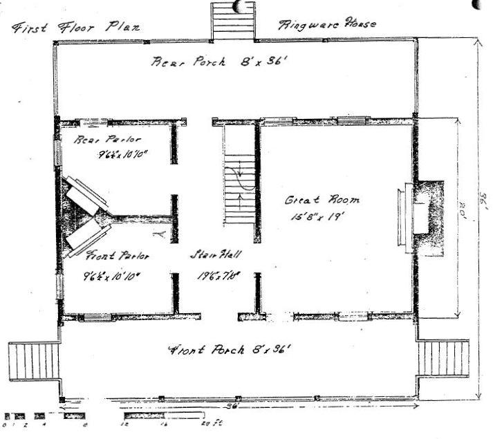 Swansboro north carolina history peter ringware house for North carolina house plans