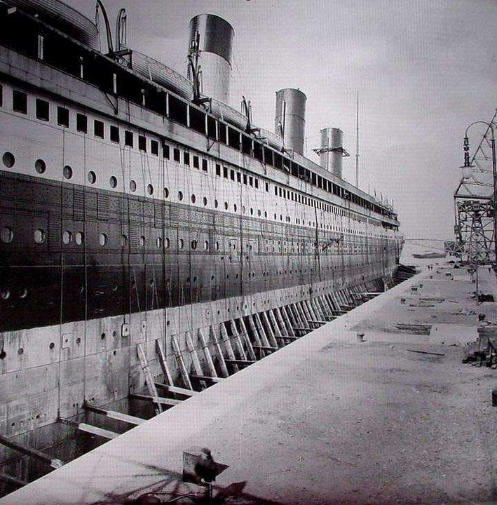Titanic historia titanic en construccion - Construccion del titanic ...