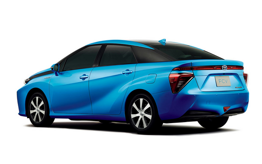 2016 Toyota Fuel Cell Vehicle Rear View