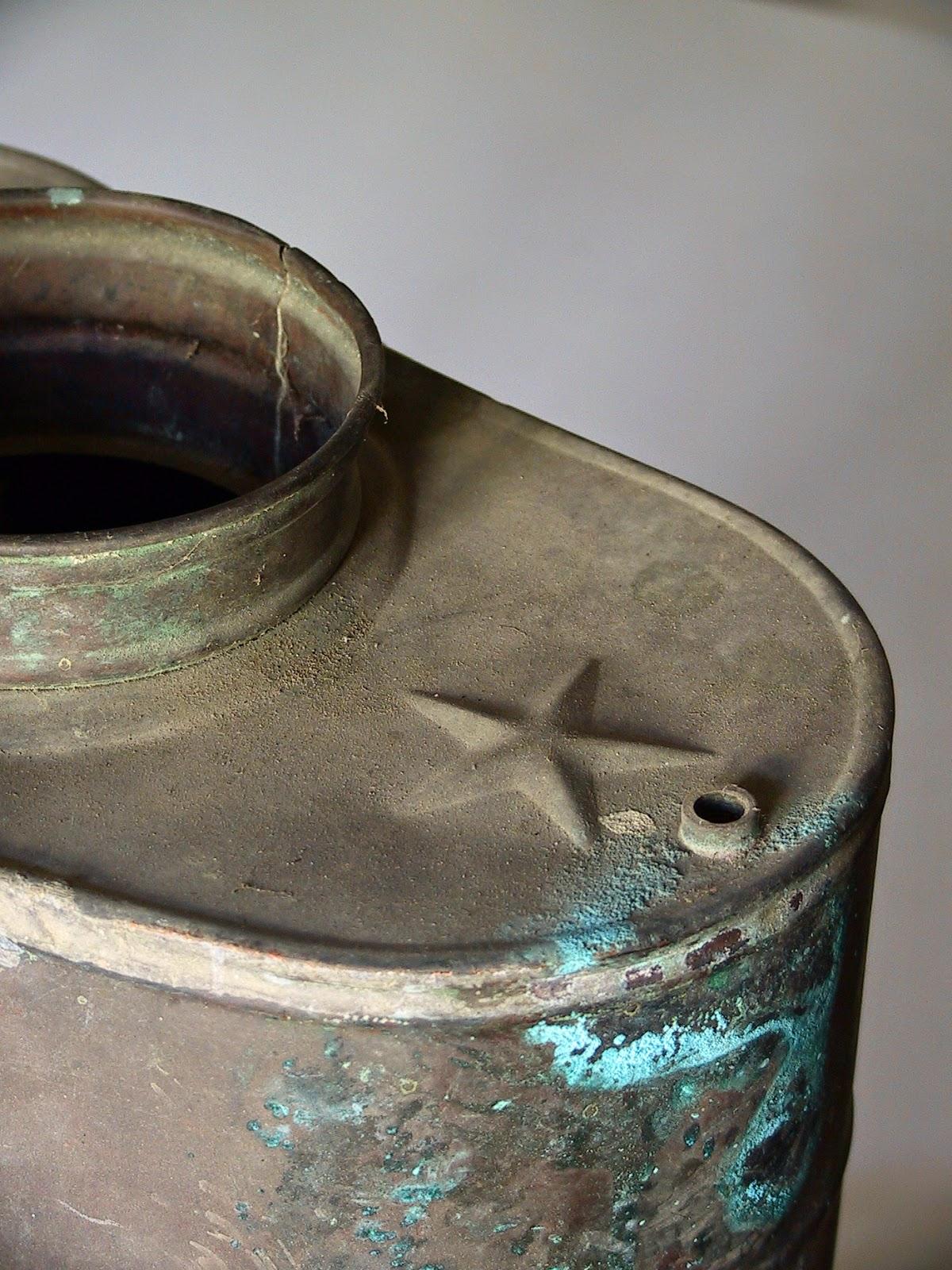 Tresseuse l 39 esth tique du vieillissement le cuivre 3 - Nettoyage cuivre vert de gris ...